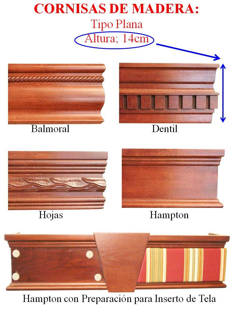Cornisas balmoral - Tipos de barnices para madera ...