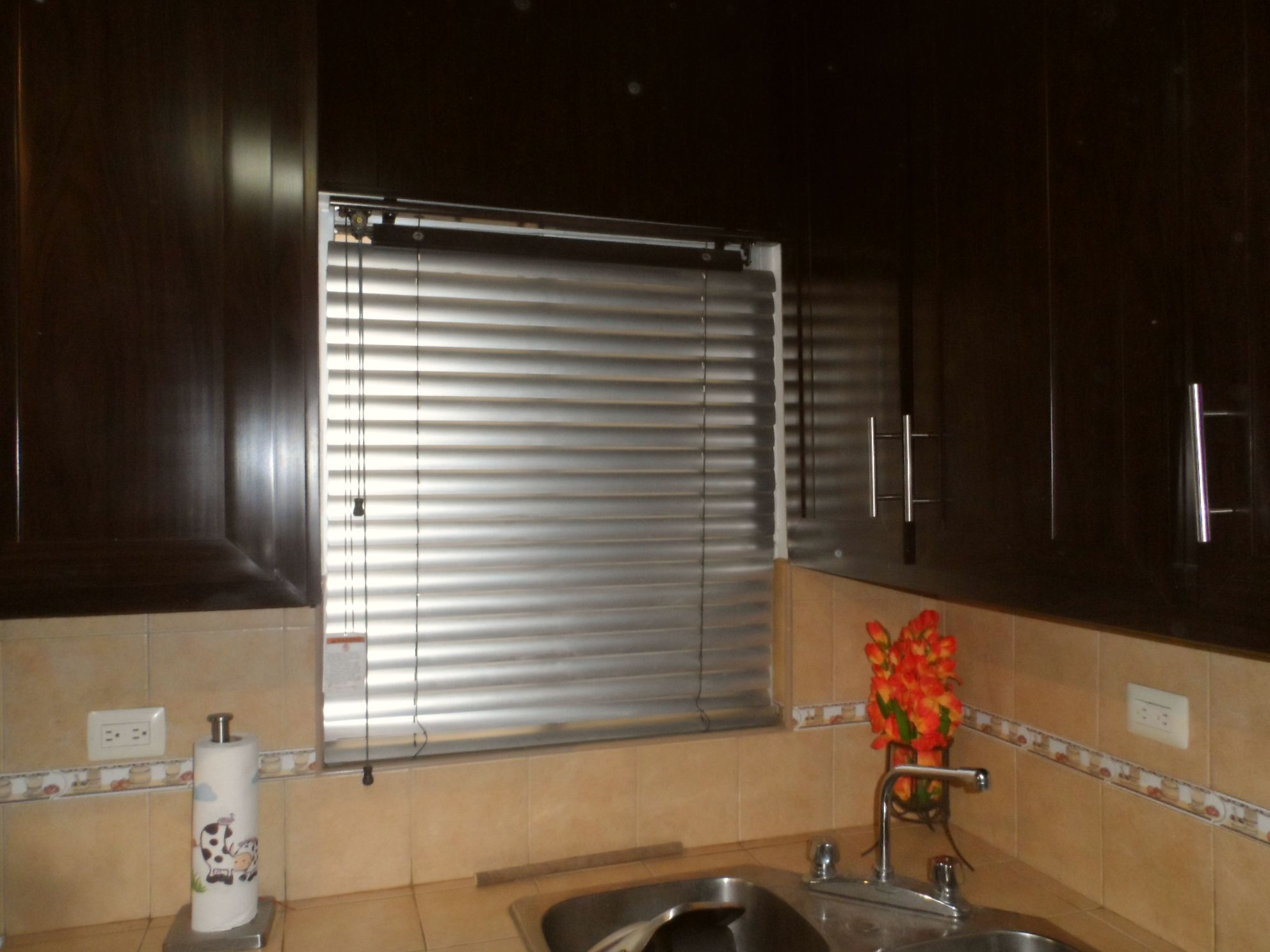 Persiana retro 2 de madera con aluminio color acero - Colocar cinta persiana ...